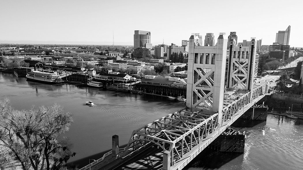 The Sacramento Tower Bridge